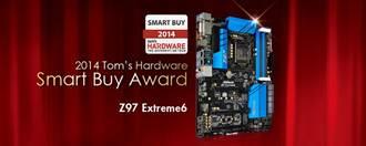 華擎Z97 Extreme6主機板 勇奪大獎