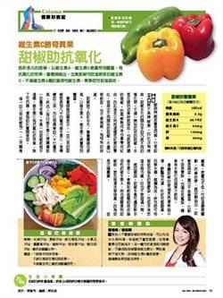 維生素C勝奇異果 甜椒助抗氧化