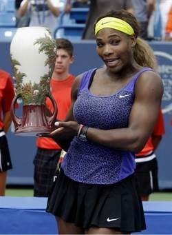小威廉絲摘下辛辛那提網賽女單后冠