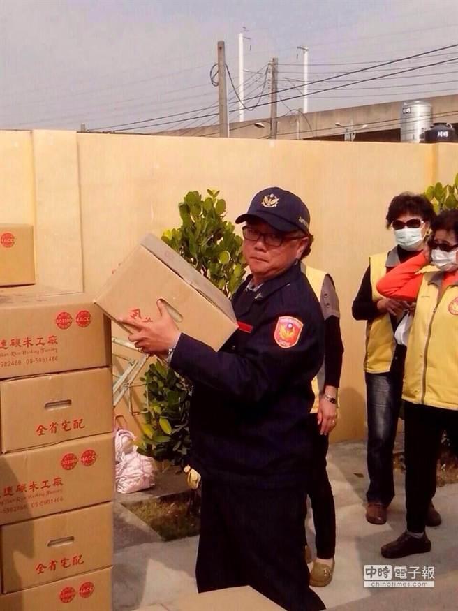 天妒英才!45歲茄萣分駐所長郭國輝今日上午疑因心肌梗塞,不幸暴斃。(柯宗緯翻攝)