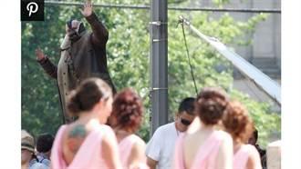 蝙蝠俠反派「班恩」亂入 史上最難忘婚禮