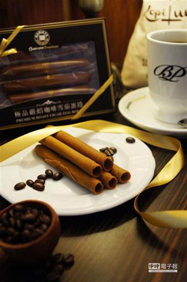 西雅圖Barista Premium極品嚴焙咖啡雪茄蛋捲禮盒,原價299元,憑消費發票享加購價199元。