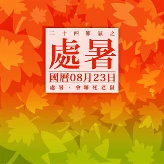 《24節氣之處暑》國曆八月二十三日