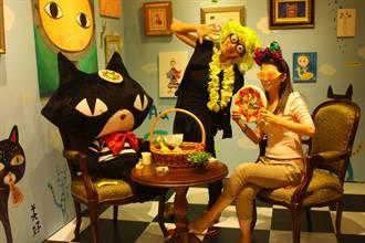 新竹世博館愛力貓餐廳 創意拍照登場