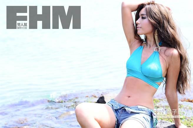 混血美女雷瑟琳(FHM提供)