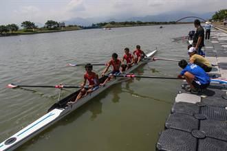 亞洲青年划船錦標賽 宜蘭冬山河登場