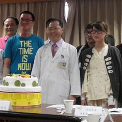氣爆受傷警專學生陳瑋、警員林惠雯出院