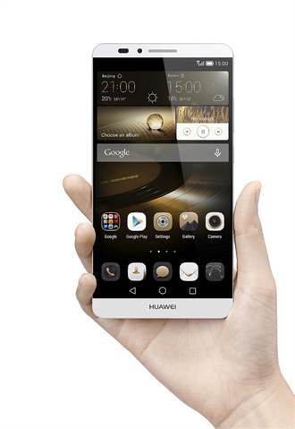 HUAWEI推6吋指紋辨識手機