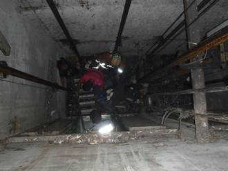 婦墜8米深電梯井 命大僅輕傷