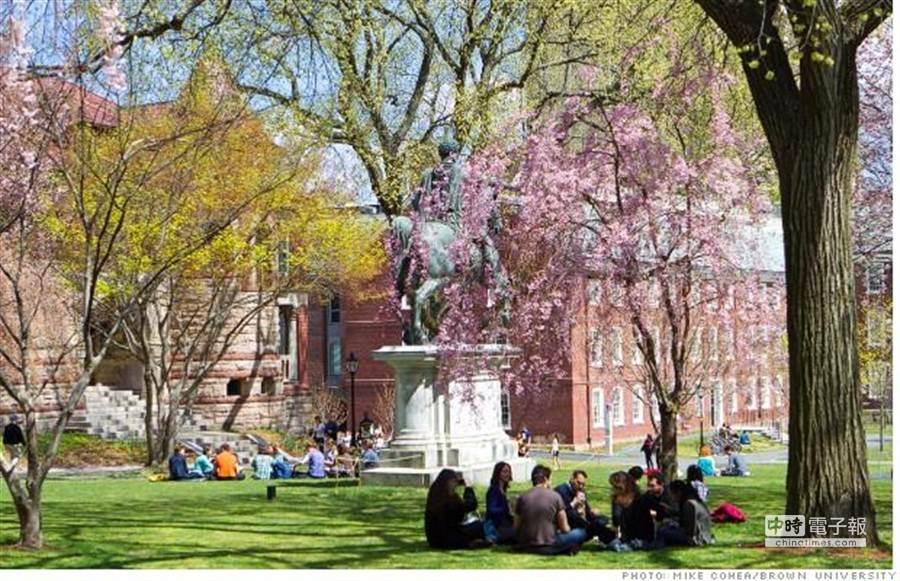 布朗大学。(图/美国中文网)