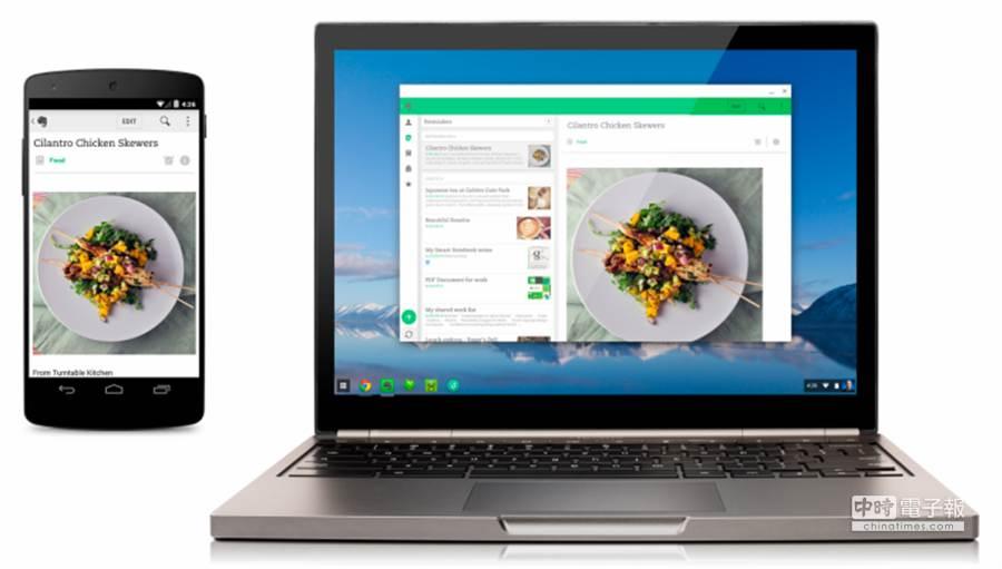 Google宣布四款Android APPs已正式登陸Chrome Web Store,能為Chromebook增添大量助力。(圖/9to5google)