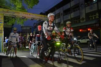 永不放棄挑戰顛峰武嶺自行車賽 地理中心碑出發