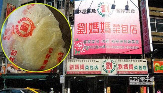劉媽媽菜包店遭裁處300萬元罰鍰。(圖摘自網路)