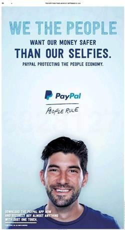 亦敵亦友?PayPal新廣告暗諷蘋果安全機制出包!