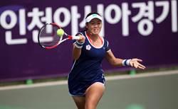 亞運女網準決賽 詹詠然先馳得點