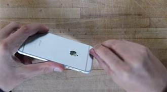 好孩子不要學!用機器磨平iPhone 6凸起的鏡頭…