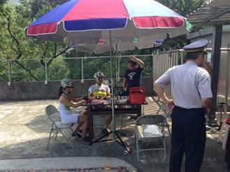 土城承天禪寺機動派出所 供茶水桌椅