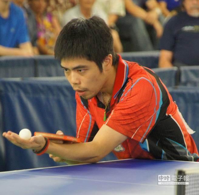 亞運桌球男子團體賽,中華隊晉級4強。圖為選手莊智淵。(圖/本報資料照片)