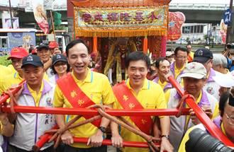 郝龍斌、朱立倫 出席媽祖文化節迎駕