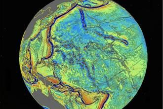 最詳盡海底地圖 2萬座深海山峰曝光