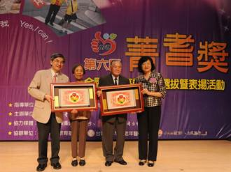 蔡黃玉英、潘益漢 91歲還做志工一級棒