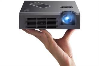 ViewSonic推出迷你掌上型投影機PLED-W800