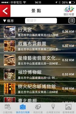 《臺灣觀光年曆》觀光局所製作的在地活動彙整