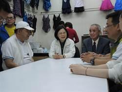 蔡英文 率中正、萬華市議員參選人掃街