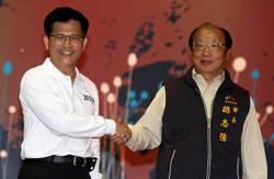 台中市長選舉抽韱 胡志強1號、林佳龍2號