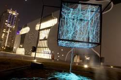 台中歌劇院 互動裝置藝術與觀眾對話