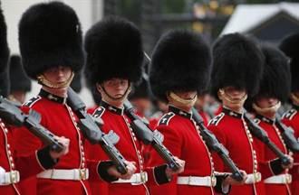 英防恐 御林軍換班實彈保護
