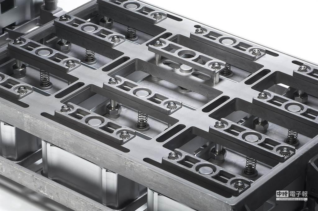 專利HexMold烘焙模具,每顆鳳梨酥上都有獨立的彈簧上蓋,精準控制,降低個別差異。