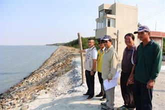 四湖海堤滲漏恐潰堤 五河局爭取七百萬元整建