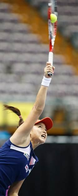 女網好手詹詠然 海碩盃進四強