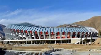 世界海拔最高現代化體育館 在拉薩驗收