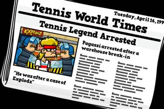 《Tennis in the Face》不是網球王子也可以打殺人網球