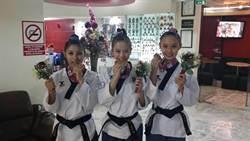 跆拳道品勢世錦賽 中華隊勇奪女子團體金牌