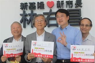 音樂家馬水龍力挺基隆市長候選人林右昌