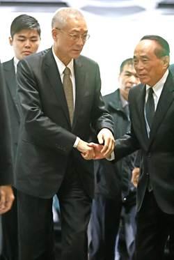 吳敦義暫代國民黨主席 洪秀柱代黨秘書長