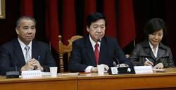 費鴻泰:未來政院重大法案須經立院黨團多數決