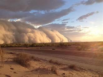沙塵暴席捲澳洲 宛如世界末日