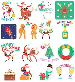 WeChat聖誕貼圖提前登場 下載趁現在