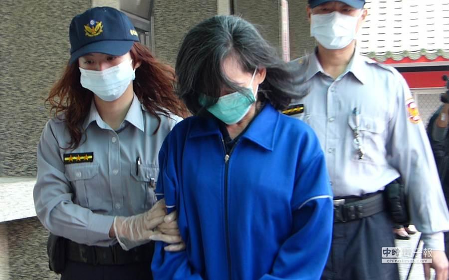 陳巧明被判13年,詹姓高中生家屬不滿。(洪璧珍攝)