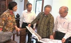 省府主席林政則拜訪藝術家蔡友夫婦