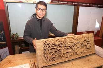 挽救凋零工藝 蔡楊吉藉木雕發聲