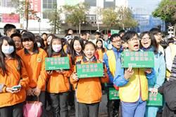 百名學生送暖 募發票救植物人