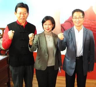 鄧鴻吉參加台中立委補選 洪嘉鴻、林珮涵力挺