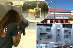 美機關槍主題公園 滿13歲可實彈射擊