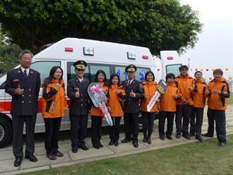 台中善光寺捐救護車 回饋烏日鄉親
