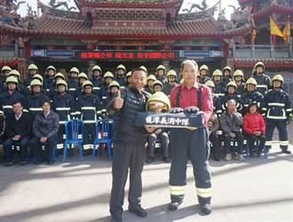 相隔7年 龍潭公所更換義消裝備